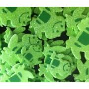 Foam Sticker Glitter Frog 120s