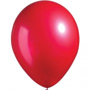 Metallic Red Balloons (Pack of 20)